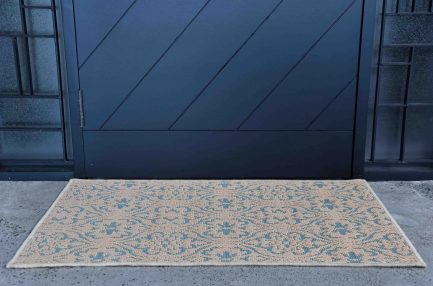 Buy DAMASC BLUE Rugs Online in India