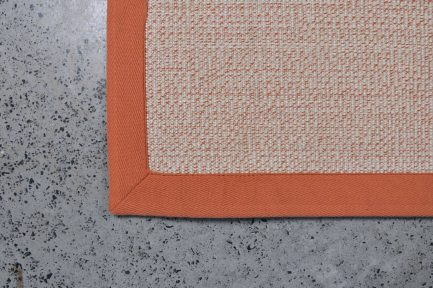 Buy BOUCLE WHITE WITH ORANGE Online