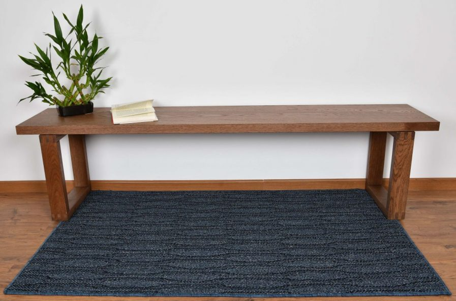 Buy ELLIPTIC DENIM BLUE Rugs Online in India