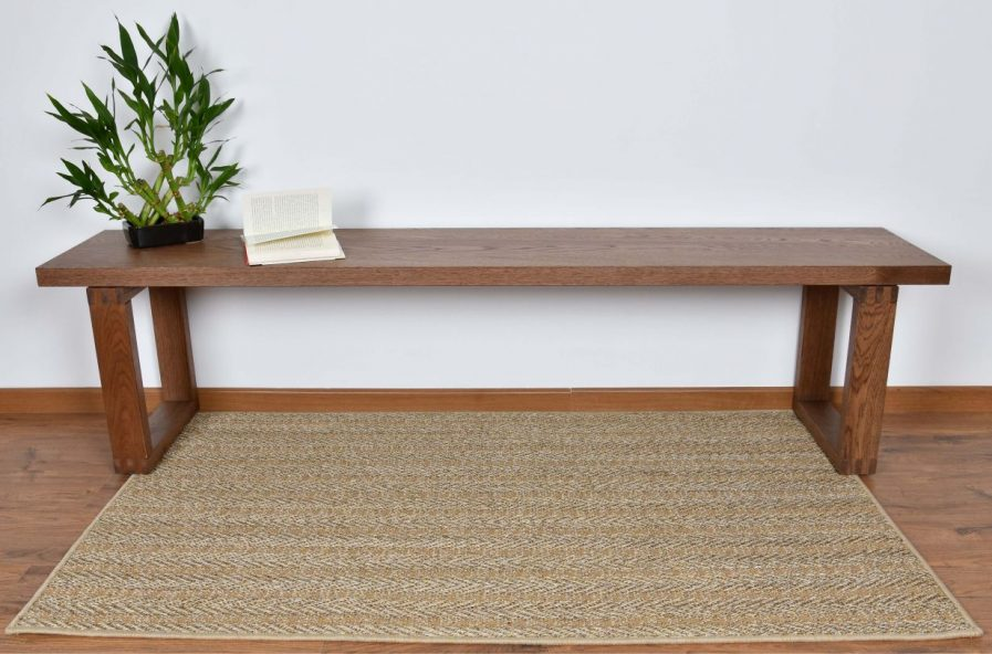 Buy STRIPE DESERT SAND Rugs Online in India