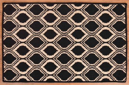 Buy EYE DESIGN BLACK RUGS Online in India