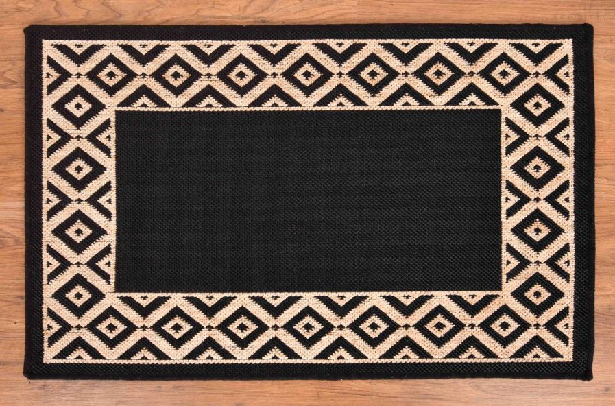 BORDER DESIGN BLACK