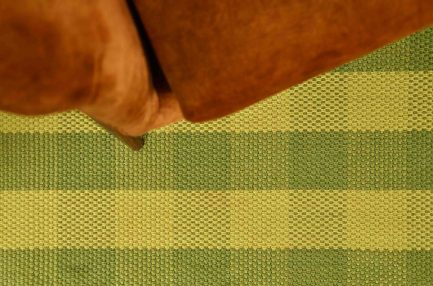 Buy CHECK DESIGN GREEN Rugs Online in India